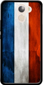 Flag France Vintage Case for Wileyfox Swift 2x