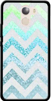 FUNKY CHEVRON BLUE Case for Wileyfox Swift 2x