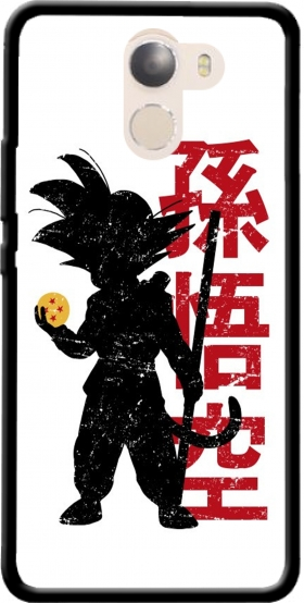Case Goku silouette for Wileyfox Swift 2x
