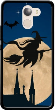 Halloween Moon Background Witch Wileyfox Swift 2x Case