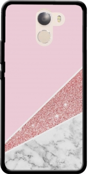 Initiale Marble and Glitter Pink Case for Wileyfox Swift 2x