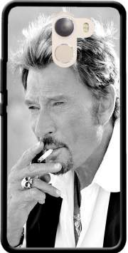 johnny hallyday Smoke Cigare Hommage Case for Wileyfox Swift 2x