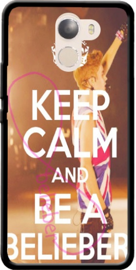 Case Keep Calm And Be a Belieber for Wileyfox Swift 2x