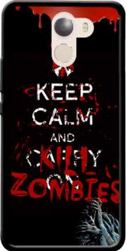 Keep Calm And Kill Zombies Case for Wileyfox Swift 2x