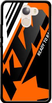 KTM Racing Orange And Black Case for Wileyfox Swift 2x