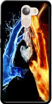 Love duet Ice and Flame Case for Wileyfox Swift 2x