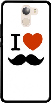 I love Moustache Case for Wileyfox Swift 2x