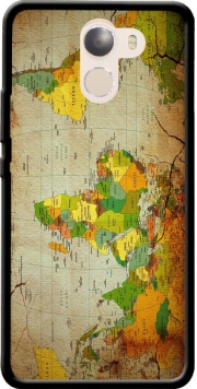 World Map Wileyfox Swift 2x Case