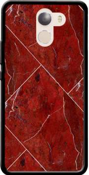 Minimal Marble Red Case for Wileyfox Swift 2x