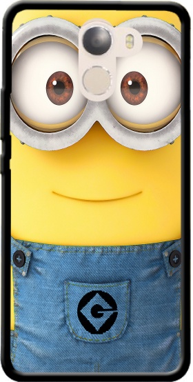 Case Minions Face for Wileyfox Swift 2x