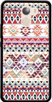 Red Native Bandana Aztec Case for Wileyfox Swift 2x
