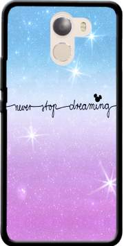 Never Stop dreaming Case for Wileyfox Swift 2x