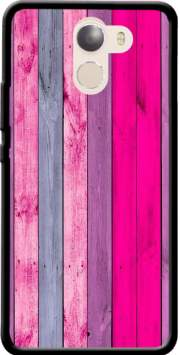 Pink wood Case for Wileyfox Swift 2x
