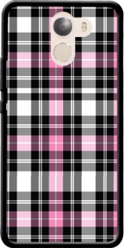 Pink Plaid Case for Wileyfox Swift 2x