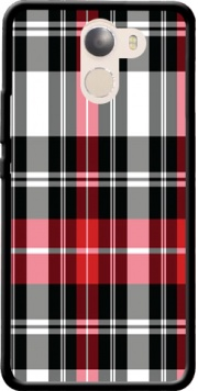 Red Plaid Case for Wileyfox Swift 2x