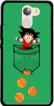 Pocket Collection: Goku Dragon Balls Case for Wileyfox Swift 2x