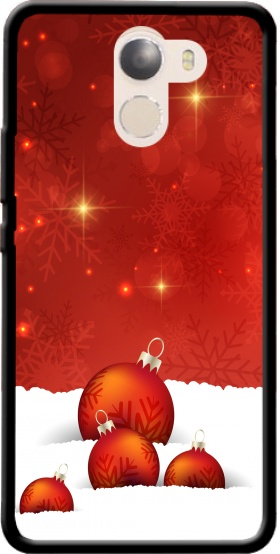 Case Red Christmas for Wileyfox Swift 2x