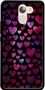 Space Hearts Case for Wileyfox Swift 2x