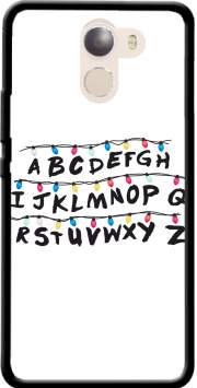 Stranger Things Lampion Alphabet Inspiration Case for Wileyfox Swift 2x