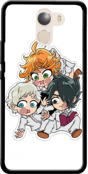 Case The Promised Neverland Emma Ray Norman Chibi for Wileyfox Swift 2x