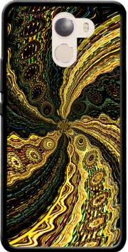 Twirl and Twist black and gold Wileyfox Swift 2x Case