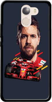Vettel Formula One Driver Wileyfox Swift 2x Case