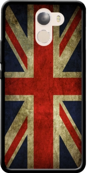 Old-looking British flag Case for Wileyfox Swift 2x