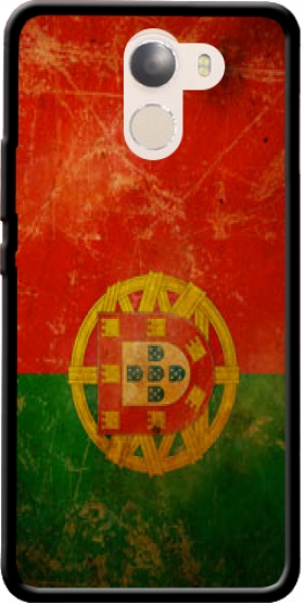 Case Vintage Flag Portugal for Wileyfox Swift 2x
