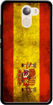 Flag Spain Vintage Case for Wileyfox Swift 2x