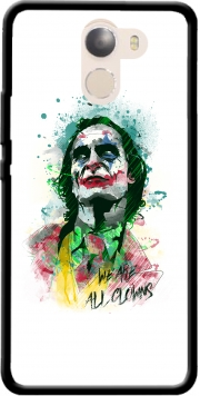 Watercolor Joker Clown Wileyfox Swift 2x Case
