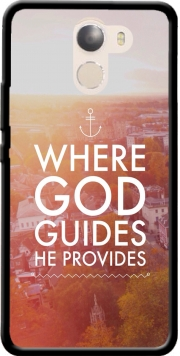 Where God guides he provides Bible Case for Wileyfox Swift 2x