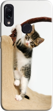 Baby cat, cute kitten climbing Case for Xiaomi Redmi Note 7