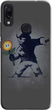 Banksy Flower bomb Case for Xiaomi Redmi Note 7