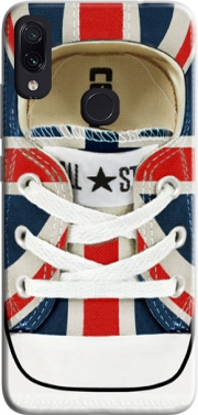 All Star Basket shoes Union Jack London Case for Xiaomi Redmi Note 7