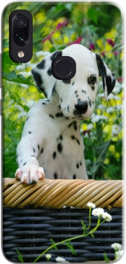 Cute Dalmatian puppy in a basket  Case for Xiaomi Redmi Note 7