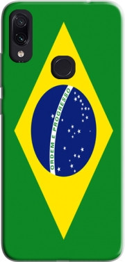 Flag Brasil Case for Xiaomi Redmi Note 7