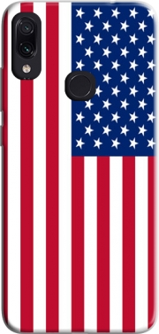 Flag United States Case for Xiaomi Redmi Note 7