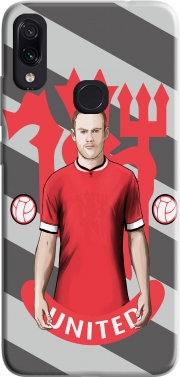 Football Stars: Red Devil Rooney ManU Case for Xiaomi Redmi Note 7