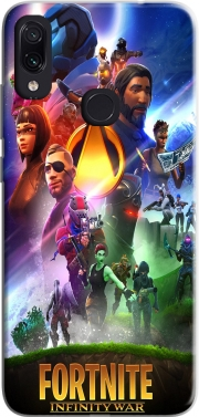 Fortnite Skin Omega Infinity War Case for Xiaomi Redmi Note 7