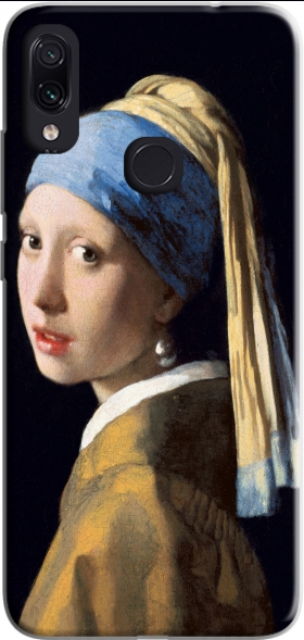Case Girl with a Pearl Earring for Xiaomi Redmi Note 7