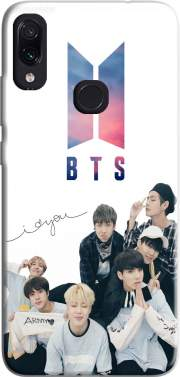 K-pop BTS Bangtan Boys Case for Xiaomi Redmi Note 7