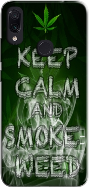 Keep Calm And Smoke Weed Case for Xiaomi Redmi Note 7