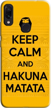Keep Calm And Hakuna Matata Case for Xiaomi Redmi Note 7