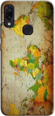 World Map Case for Xiaomi Redmi Note 7