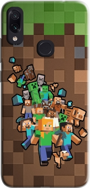 Minecraft Creeper Forest Case for Xiaomi Redmi Note 7