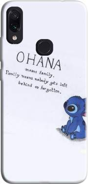 Ohana Means Family Case for Xiaomi Redmi Note 7