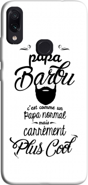 Papa Barbu comme un papa normal mais plus cool Case for Xiaomi Redmi Note 7