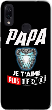 Papa je taime plus que 3x1000 Case for Xiaomi Redmi Note 7