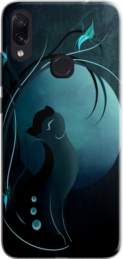 Sensual Cat in the Moonlight  Case for Xiaomi Redmi Note 7