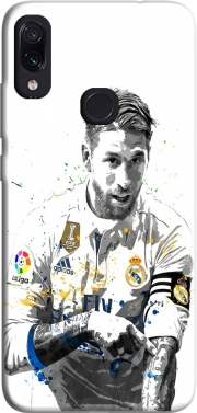 Sergio Ramos Painting Art Case for Xiaomi Redmi Note 7